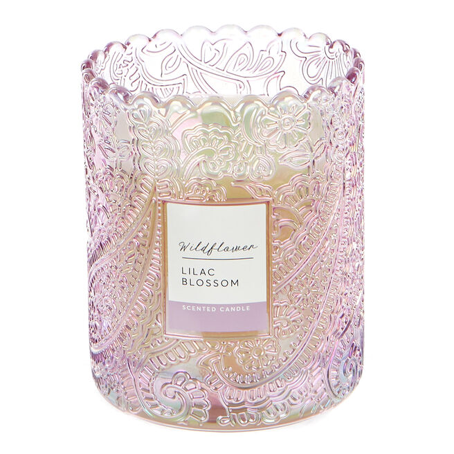 Wildflower Lilac Blossom Scented Candle