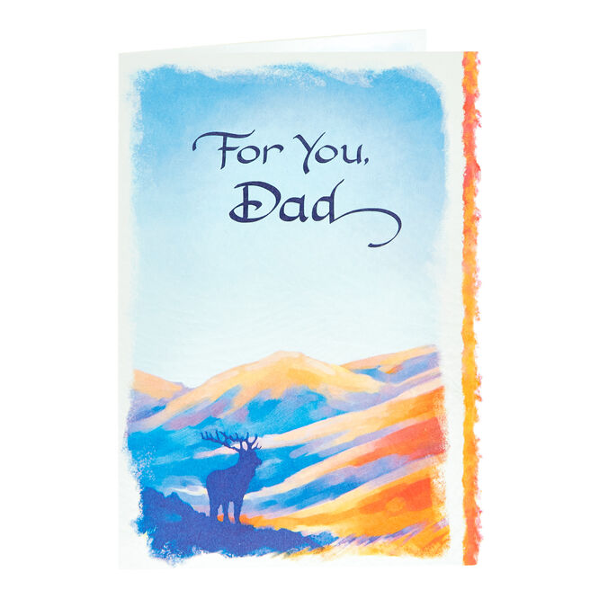 Blue Mountain Arts Card - For You, Dad