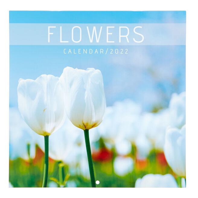 Square 2022 Flowers Calendar
