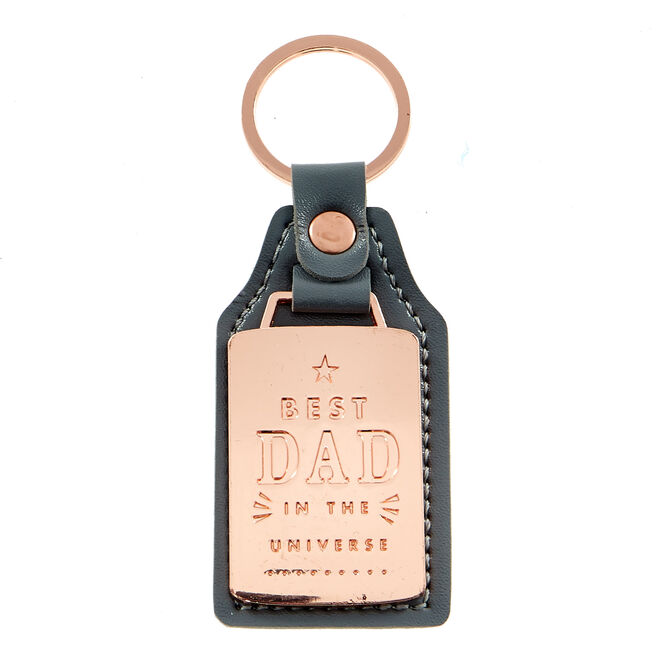 Best Dad In The Universe Keyring