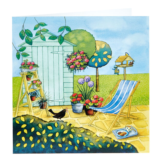 Any Occasion Card - Sunny Garden