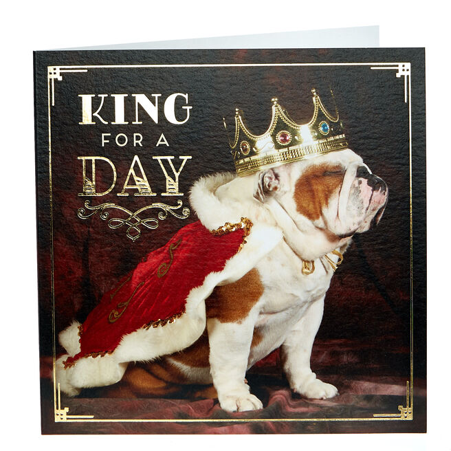Any Occasion Card - King For A Day