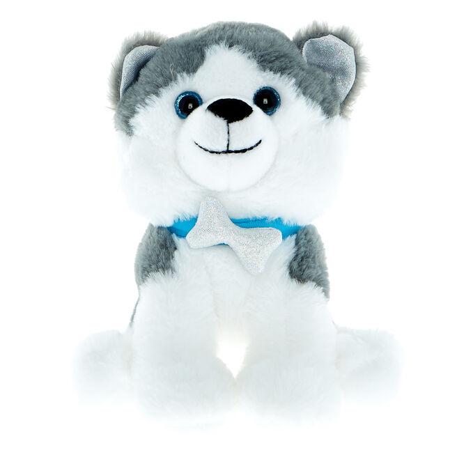 Small Husky Dog Soft Toy