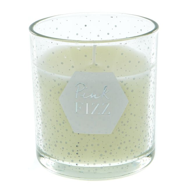 Pink Fizz Candle