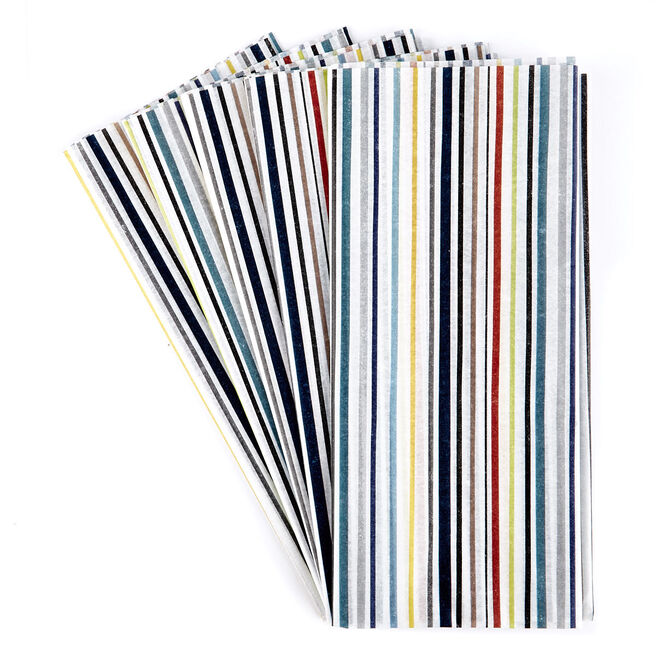 Striped Tissue Paper - 7 Sheets
