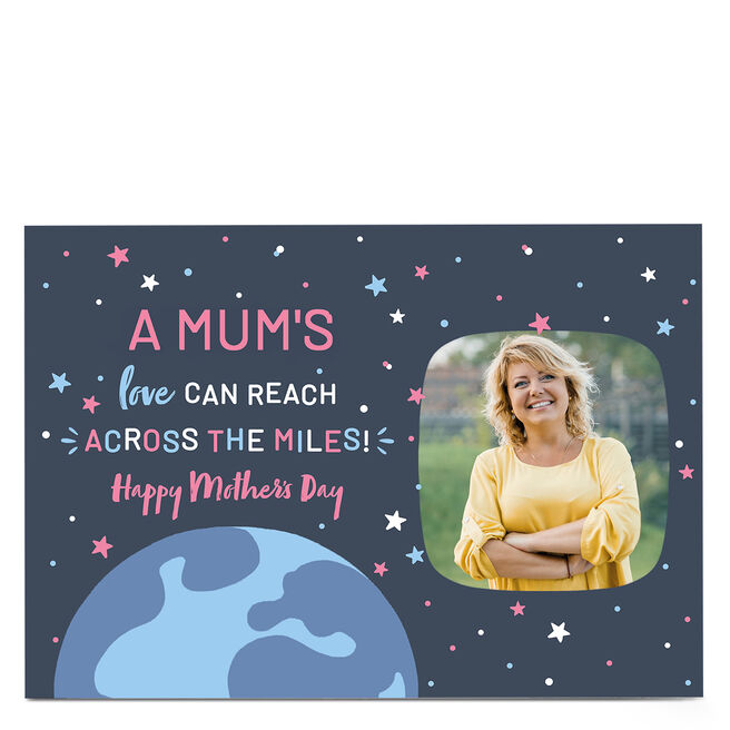 Photo Mother's Day Card - Across the Miles