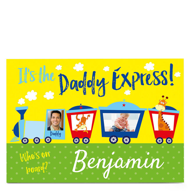 Photo Card - The Daddy Express - One Name