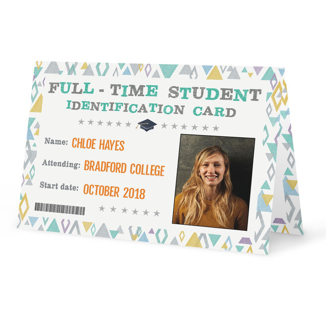 Photo Back To School Card - Student ID Card