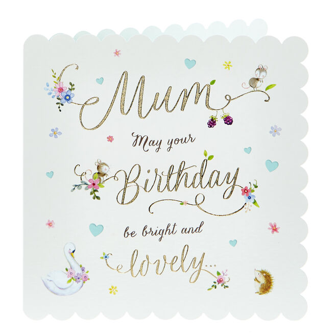 Birthday Card - Mum Bright & Lovely