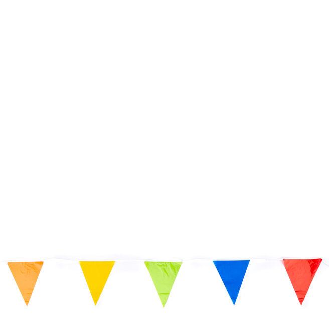 Giant 32 Ft Rainbow Flag Banner