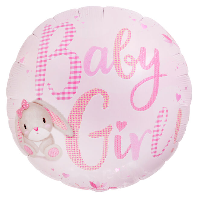 Baby Girl 31-Inch Foil Helium Balloon