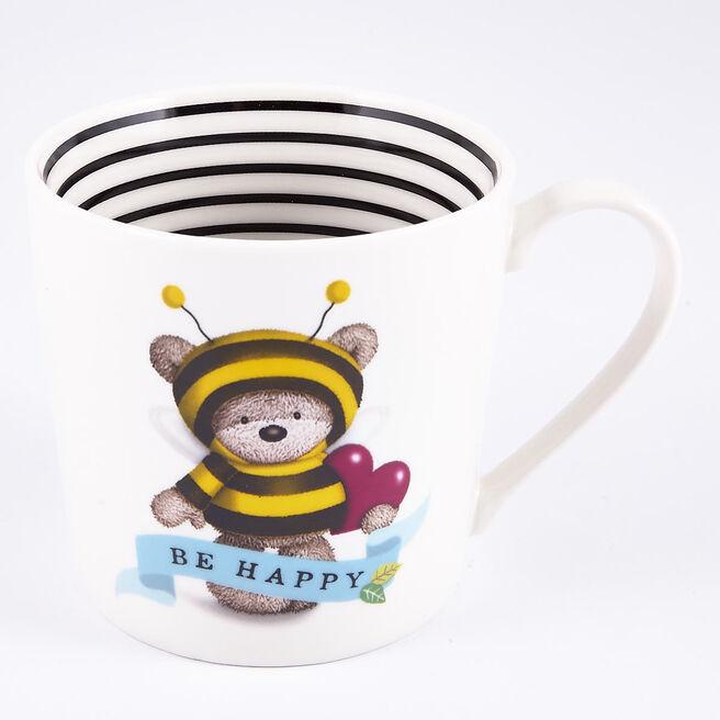 Be Happy' Hugs Mug