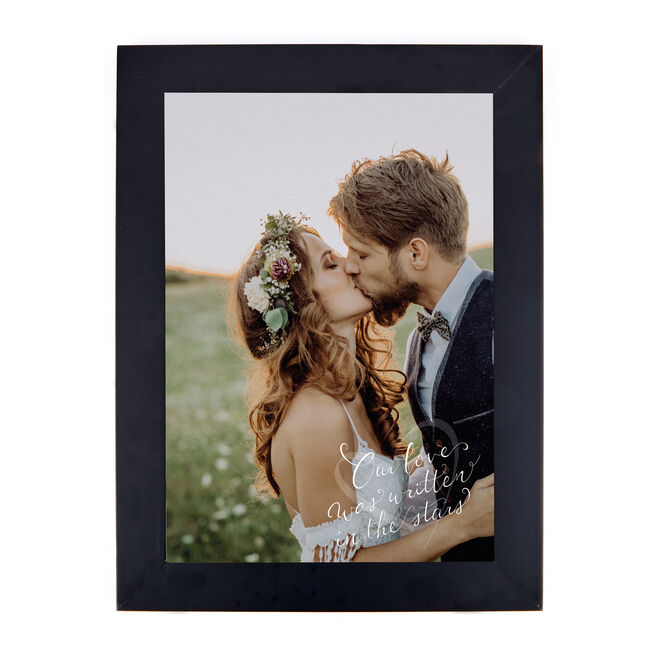 Personalised Photo Print - Written In The Stars