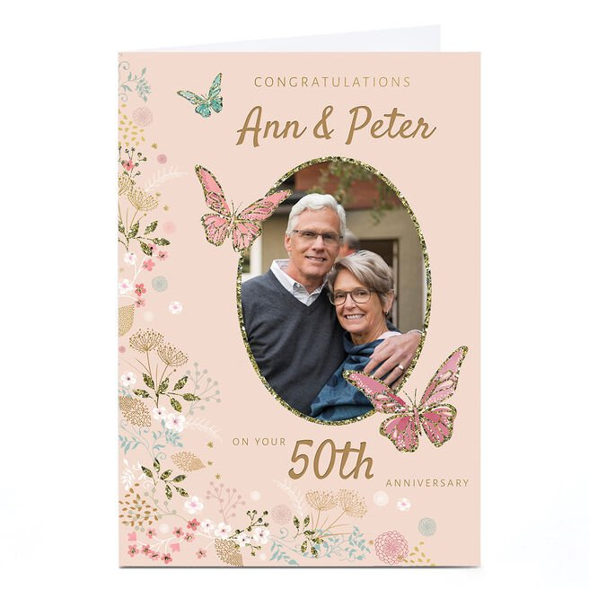 Photo Kerry Spurling Anniversary Card - 50th Anniversary