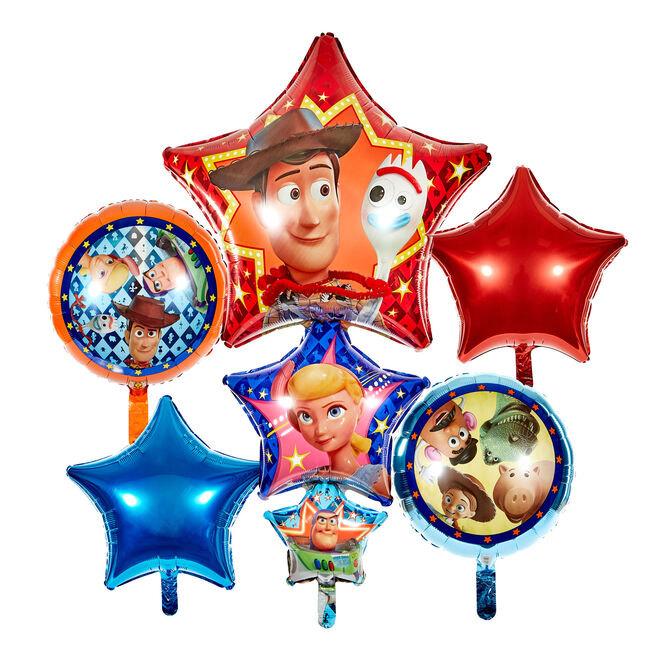 Large Toy Story 4 Foil Balloon Bundle (Deflated)
