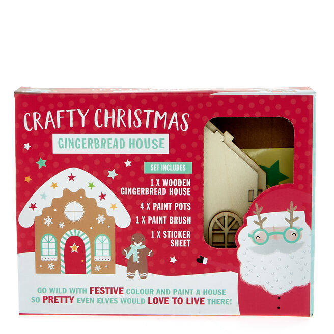 Crafty Christmas Gingerbread House Kit