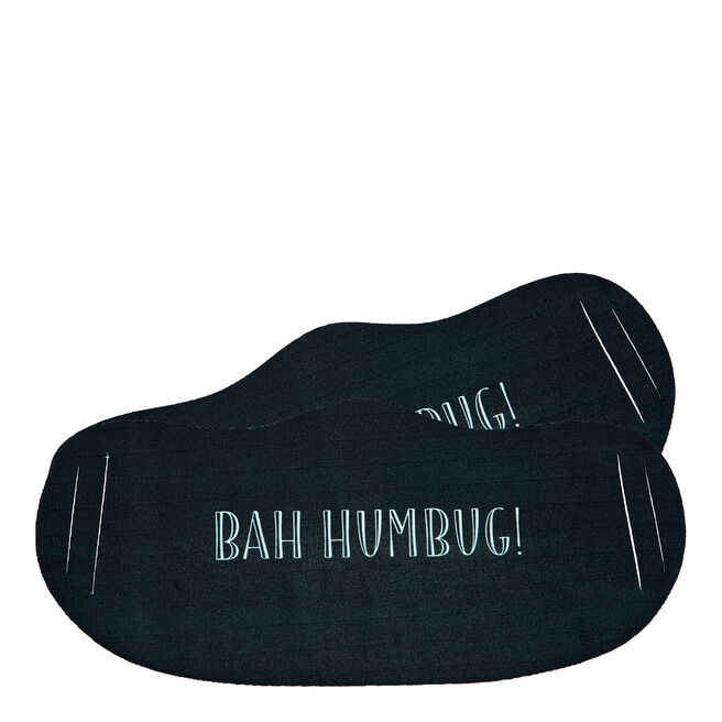Washable Bah Humbug Face Coverings - Pack Of 2