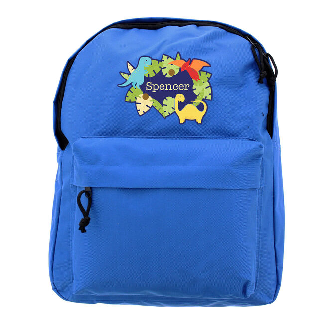Personalised Backpack - Dinosaur