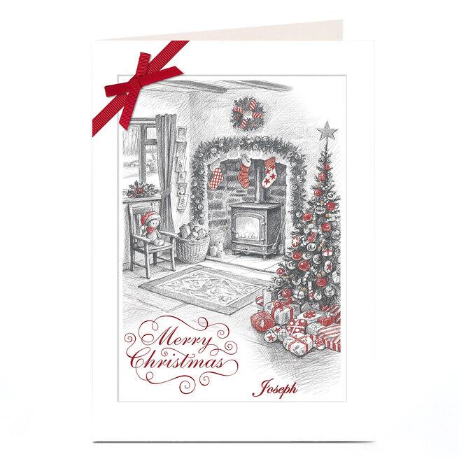 Personalised Christmas Card - Christmas Sketch