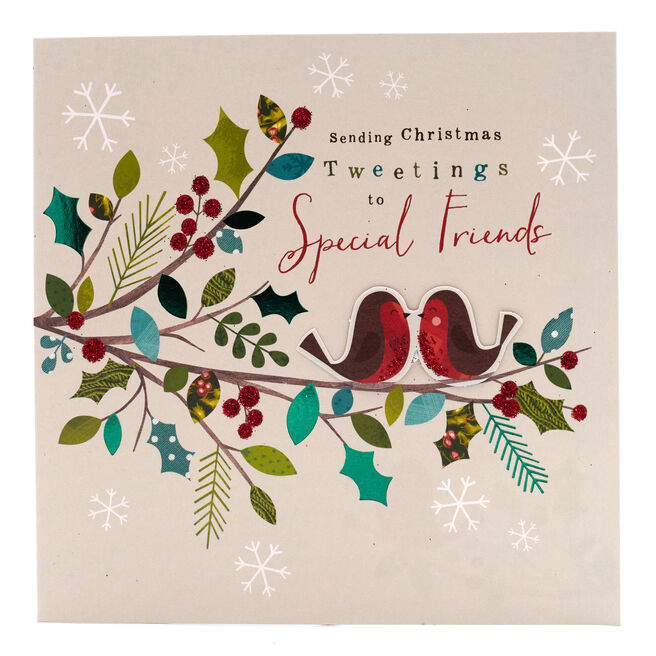Boutique Collection Christmas Card - Special Friends