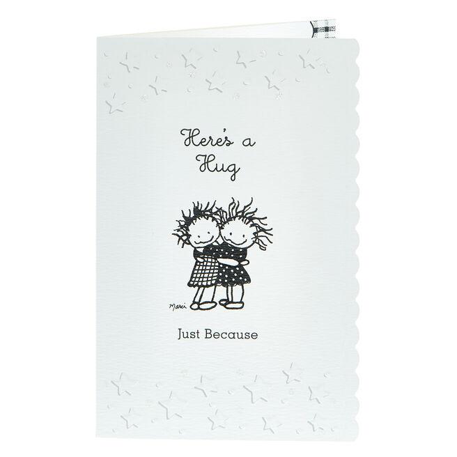 Blue Mountain Arts Card - Here's A Hug