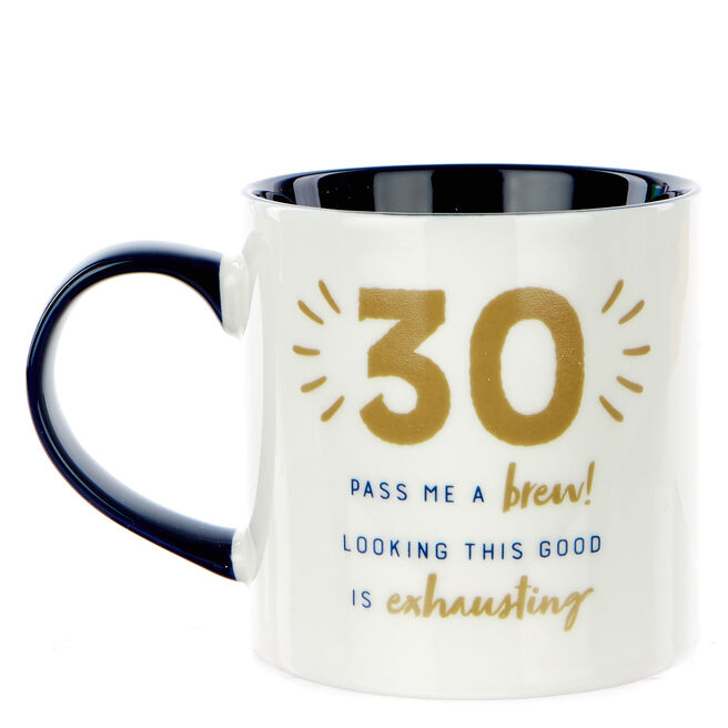 30th Birthday Mug - Looking This Good Is Exhausting