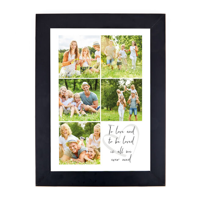 Personalised Photo Print - To Love and To Be Loved