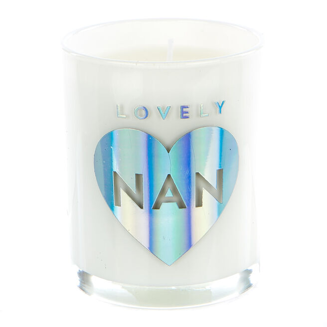 Lovely Nan Vanilla Scented Candle