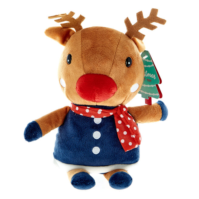 Reindeer Christmas Soft Toy