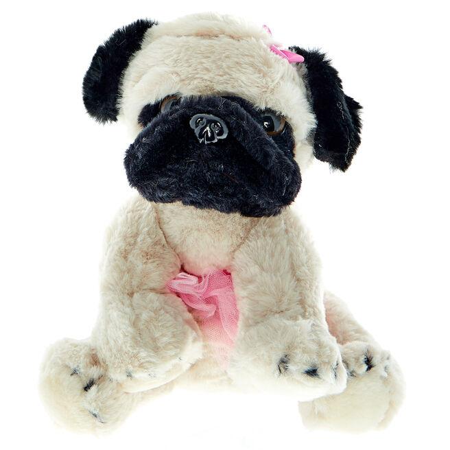 Ballet Pug Soft Toy