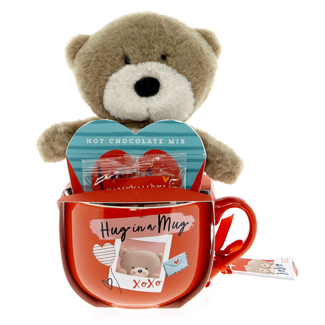 Hug In A Mug Hot Chocolate Gift Set