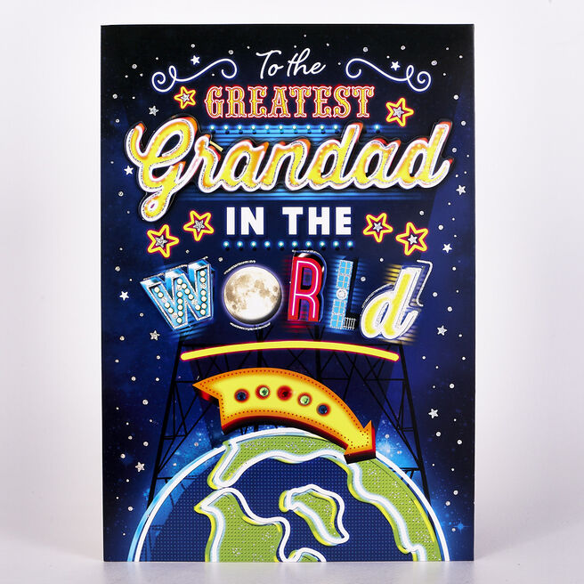 Signature Collection Birthday Card - Greatest Grandad