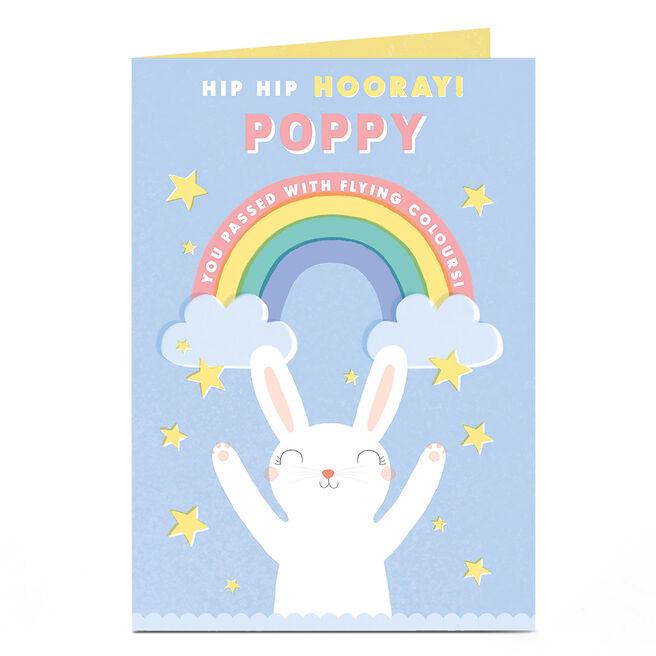 Personalised Card - Hooray You Passed!