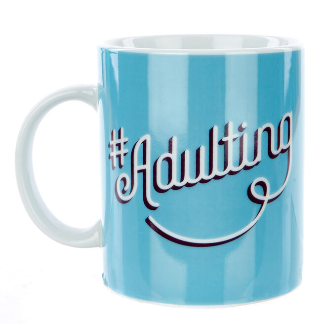 Hashtag Adulting Mug