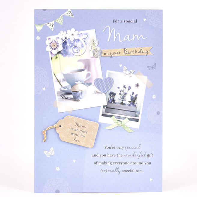 Signature Collection Birthday Card - Mam Another Word