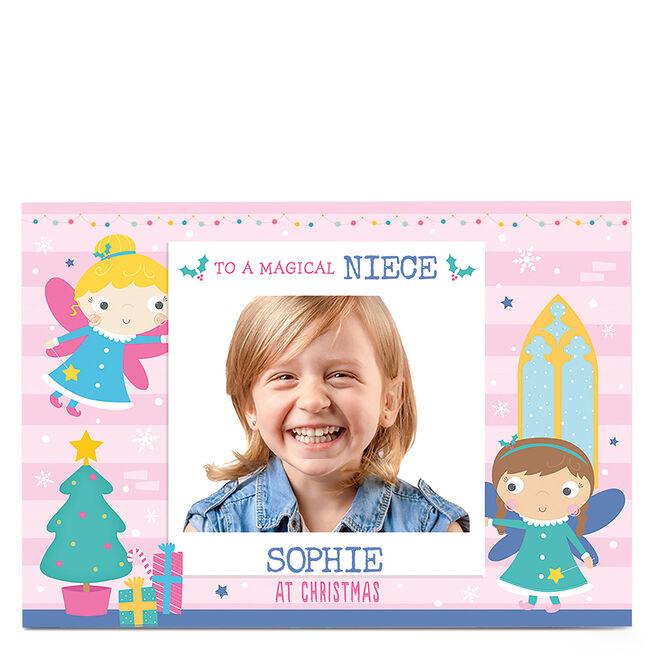 Christmas Photo Card - Magical Fairy Christmas Wishes