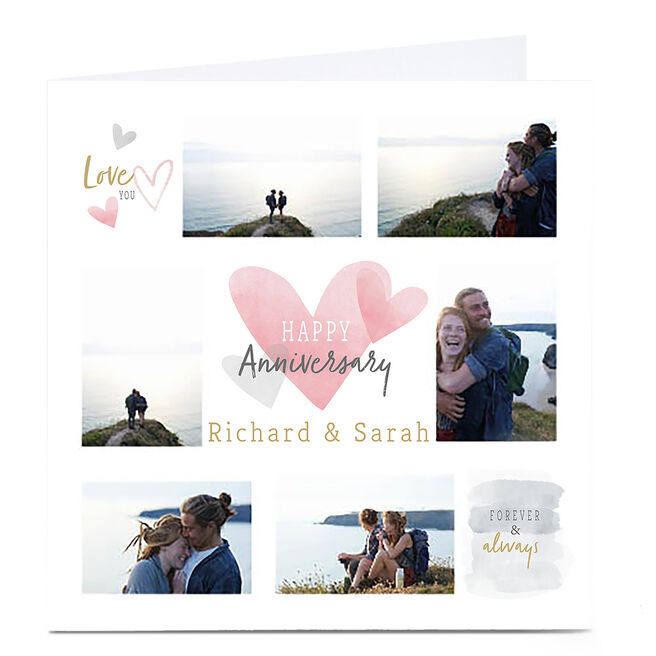 Photo Anniversary card - Love You Forever & Always