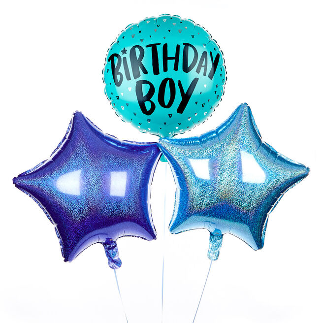 Birthday Boy Balloon Bouquet - The Perfect Gift!