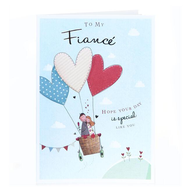 Birthday Card - To My Fiance