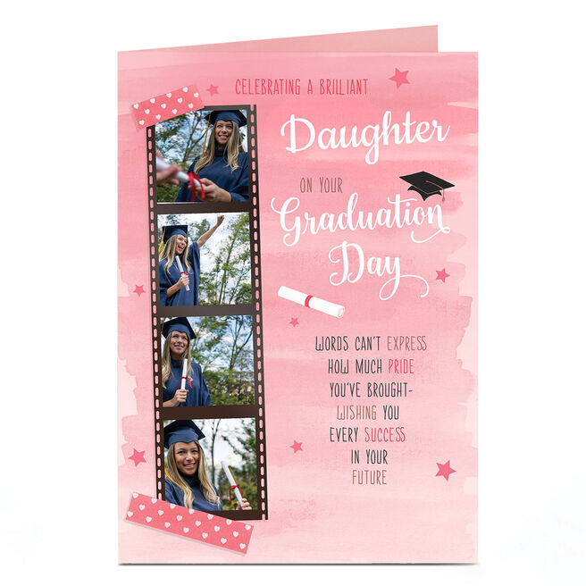 Photo Graduation Card - Words Can't Express