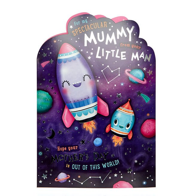 Giant Mother's Day Card - Mummy From Your Little Man