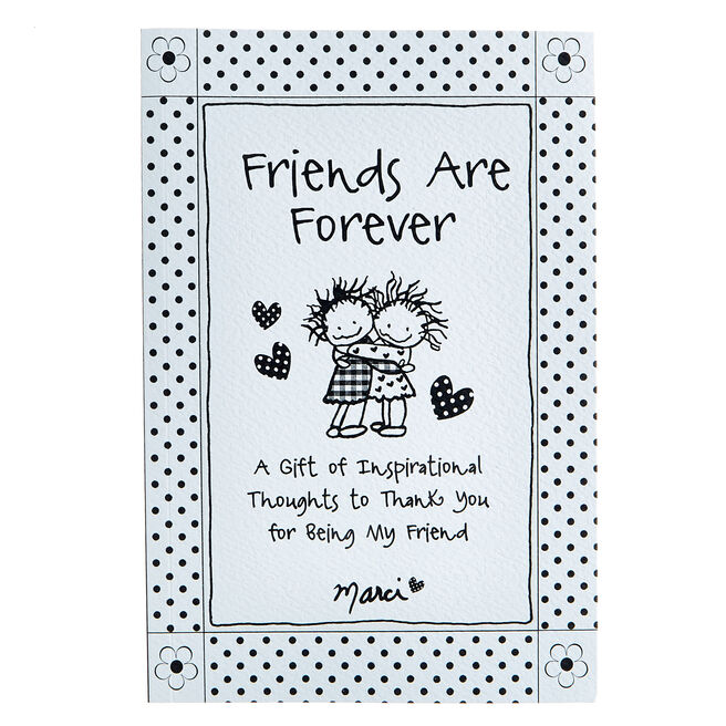 Blue Mountain Arts Book - Friends Are Forever