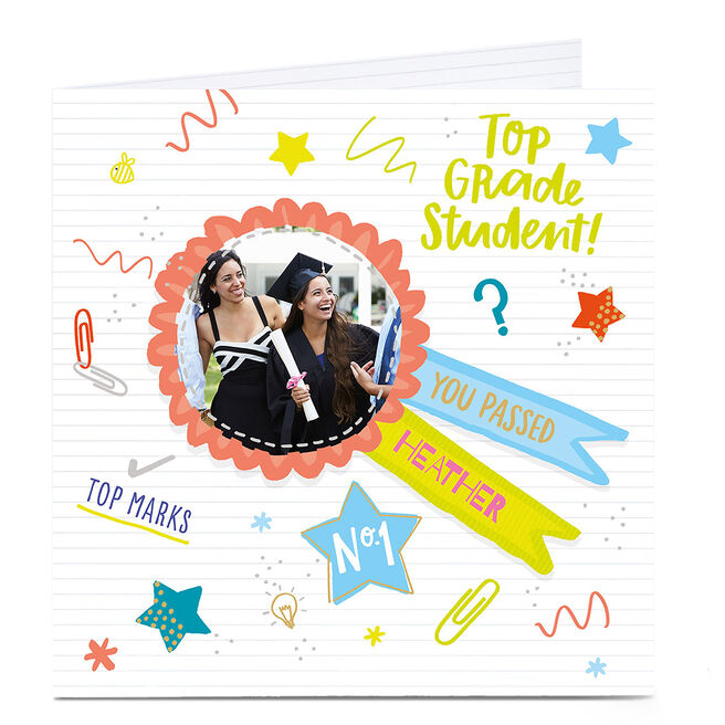 Photo Card - Top Grade Student