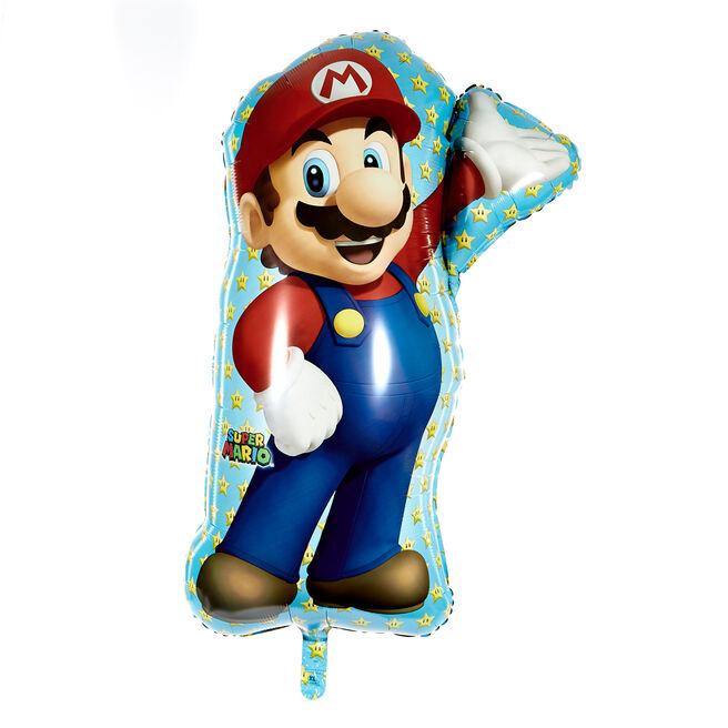 Large Super Mario 33-Inch Foil Helium Balloon