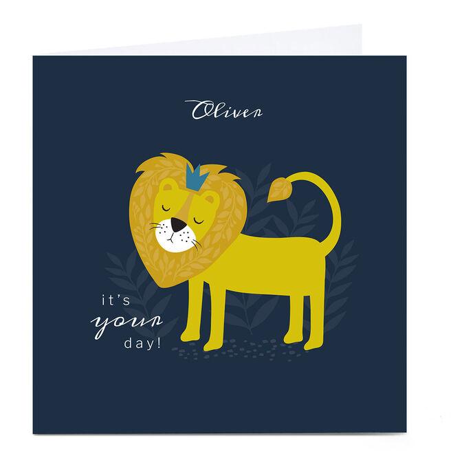 Personalised Klara Hawkins Card - It's Your Day!