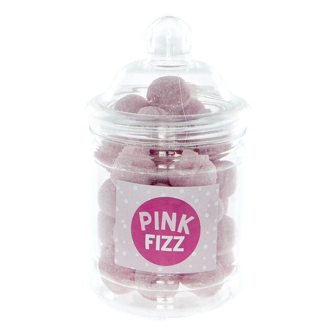 Pink Fizz Boiled Sweets In A Jar