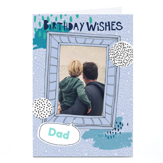 Personalised Bev Hopwood Birthday Card - Birthday Wishes