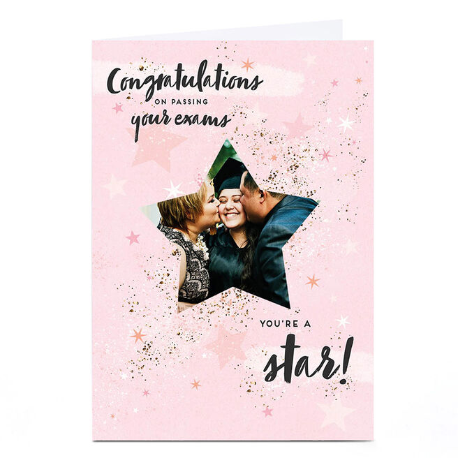 Photo Congratulations Card - Passing Your Exams