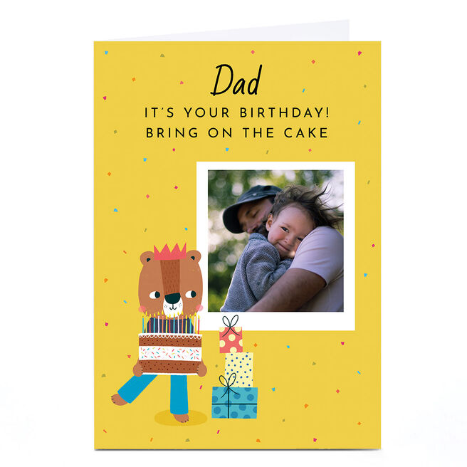 Personalised Lemon & Sugar Photo Card - It's Your Birthday!