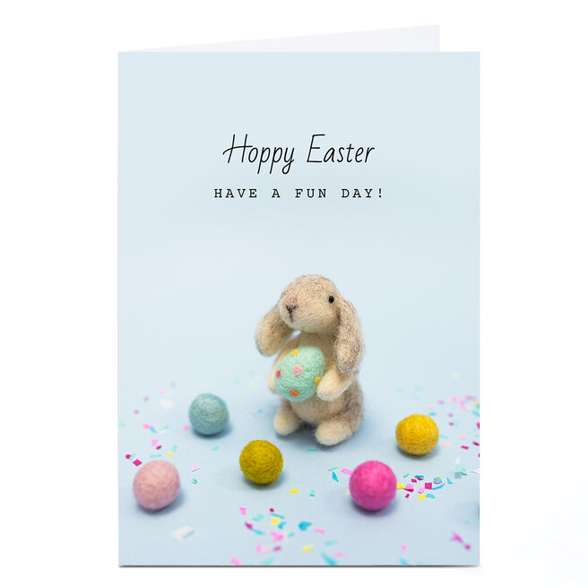 Personalised Lemon and Sugar Easter Card - Have A Fun Day!